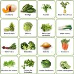 Janeiro – Legumes da época.