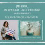 Fit Club de Desenvolvimento Pessoal – Jantar com Ana Teresa Trindade